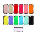 Cassa comoda del silicone di sensibilità della mano delle vite sottili per iPhone7 più