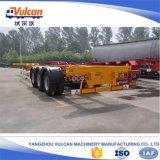 ISOによって証明される造船所の運送者40FTの容器の半トレーラー