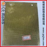 Papel metálico auto-adhesivo impermeable del PVC del oro para la cortina Rod