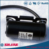 Condensador de comienzo CD60, shell de la Condensador-Baquelita del comienzo del motor