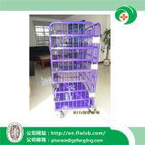 セリウムが付いている記憶の商品のための鋼鉄Foldableロジスティクスの容器