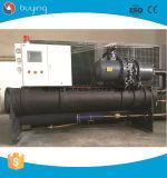 Refrigerador refrigerando de refrigeração industrial do leite da água de gelo do glicol