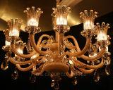 Luz residencial de cristal com RoHS, certificação do hotel do VDE
