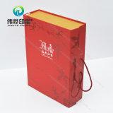 Neuer Entwurfs-Wein-Geschenk-/Papier-Getränk-Kasten-verpackenausgabe-Drucken-Kasten
