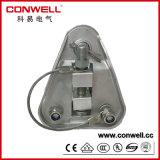 Abrazadera de aluminio galvanizada en baño caliente de la suspensión del cable