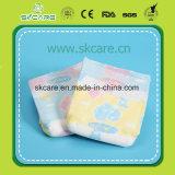 漏出が付いている卸売のための優れた使い捨て可能な赤ん坊のおむつは魔法テープを守る