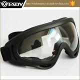 Óculos de proteção táticos transparentes do X.400 Steampunk Rescription Airsoft