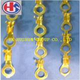 Type métal de boucle estampant le terminal électrique d'extrémité de fil de presse (HS-DZ-0093)