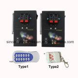Am02-2 dois grupos com os 2 fogos-de-artifício do receptor que despedem o sistema do dispositivo de ignição