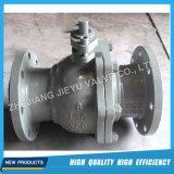 Industrial Catbon fundición de acero de la válvula de bola del muñón