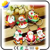 Bester Verkauf der buntes und spezielles Weihnachtenweichen Belüftung-Schlüsselkette