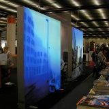 Casella chiara laterale di pubblicità dell'interno del doppio di alluminio del blocco per grafici della visualizzazione