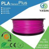 Filamento del PLA 3D de la venta al por mayor 1.75m m 3m m para la impresora 3D con el mejor precio