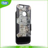 형식 벨트 클립 더하기 iPhone 6, 셀룰라 전화 상자 덮개를 위한 잡종에 의하여 주문을 받아서 만들어지는 이동 전화 상자