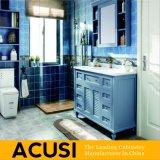 Американская самомоднейшая тщета ванной комнаты твердой древесины типа (ACS1-W04)