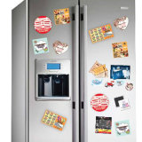 Los últimos mejores imanes durables de moda del refrigerador de la foto de la calidad para la decoración