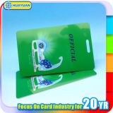 Подгонянная карточка ключевой бирки RFID багажа перемещения авиации PVC логоса MIFARE классицистическая EV1 1K