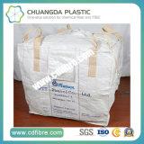 Sacos grandes tecidos PP brancos ou bege para o transporte mineral