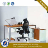 木のメラミンオフィス用家具のL形の事務机(NS-NW187)