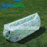 Aufblasbares Luft-Nylonsofa, kampierender wasserdichter Nylonschlafsack