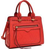 High Quality Designer Zip Women Handbag PU Lady Hand Bag