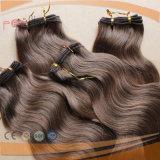 Соткать волнистых волос тела волос надкожицы людского естественного цвета полный