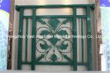 Barandilla de acero galvanizada decorativa de alta calidad 29 del balcón de la aleación de Haohan Alluminum