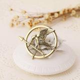 Il metallo del distintivo del Brooch di Pin di Mockingjay del puntello di Katniss Everdeen Cosplay dei giochi di fame