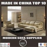 Freizeit-Wohnzimmer-Italien-lederne Sofa-Möbel 2017