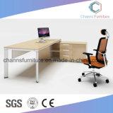 Самомоднейший l таблица офиса стола компьютера мебели формы белая домашняя