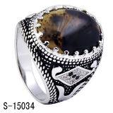 Monili di modo 925 anelli dei musulmani dell'argento sterlina