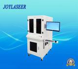 Máquina de la marca del laser de la fibra del metal de la superficie curvada