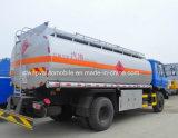 Dongfeng 6 rueda el petrolero 10000 L carro del combustible 10 M3 del tanque grosero de petróleo