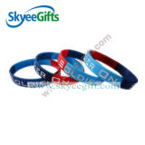 Silikon in den fördernden Armbändern u. im Wristband