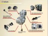 高品質の銀色のアルミニウムオートバイのエンジン部分ユニバーサル主要なおよび反対シャフト(SL125-Zz3)