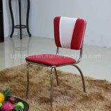 (SP-LC293) 1950 년대 빨간 비닐 가죽 미국 Retro 식사 의자
