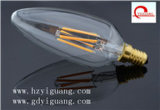 E14 220V/110V 3W C38 LED Kerze-Birne, TUV/UL/GS