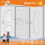 Portello di legno del portello del MDF del PVC di prezzi competitivi per la stanza da bagno interna