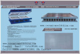 Molde da telha cerâmica para a telha da impressão do engranzamento
