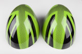 Cubierta verde protegida ULTRAVIOLETA material del espejo de la cara del reemplazo del estilo de gato de unión de Mini Cooper Hardtop del ABS a estrenar para Mini Cooper F56