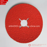 """4.5 """", Zirconia P60 y disco que enarena del óxido de aluminio para el acero inoxidable (distribuidor de VSM)"""