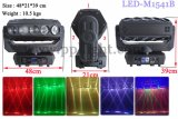 indicatore luminoso capo mobile del fascio del CREE LED di 15PCS 12W RGBW 4in1