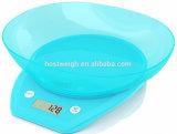 Hostweigh Nahrung-Digital-Küche-Filterglocke-Schuppe der Gesundheits-5kg/1g