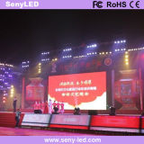 Visualización video al aire libre del alquiler LED de los acontecimientos de P6mm