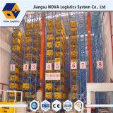 Système amovible de défilement ligne par ligne de système de crémaillère de mémoire d'entrepôt