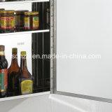 Кухня Cabient мебели нержавеющей стали хорошего качества дешевая (7047)