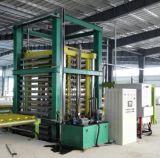 Cadena de producción artificial automática de la losa de la piedra del cuarzo