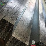 강철 Decking 가격이 건축재료에 의하여 물결 모양 금속 직류 전기를 통했다
