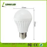 에너지 절약 E27 7W 플라스틱 LED 전구