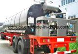 2 Wellen-Bitumen-Asphalt-Tanker-halb Schlussteil